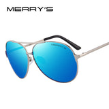 MERRY'S Classic Aviatior Polarized Sunglasses
