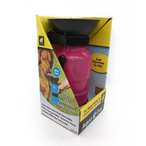 Portable Outdoor Pets Drinking Water Bottle
