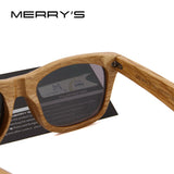 MERRY'S Handmade Wood Frame Sunglasses