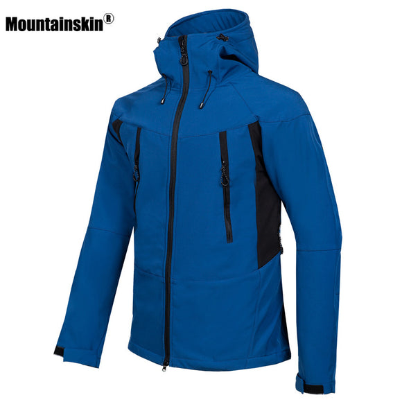 Mountainskin Men's Winter Softshell Fleece Lined Jacket