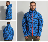 Facecozy Men's Softshell Camo Pattern Jacket