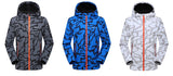 Facecozy Men's Softshell Camo Pattern Jacket colors