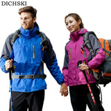 DICHSKI Waterproof Outdoor Jacket