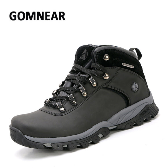 GOMNEAR Waterproof Hiking Anti-skid Hiking Boots