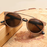 Better for Wood -Vintage Acetylated Wood Sunglasses