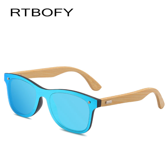 RTBOFY Sunglasses with Bamboo Frame