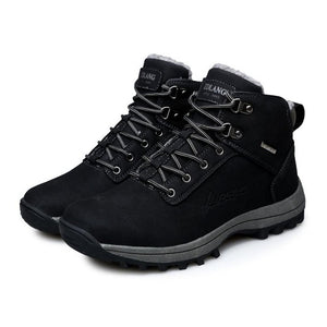 OUTEND Mens Hiking Boots