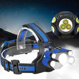 40000 LM 7X XM-L T6 LED Rechargeable Multi-function Headlamp