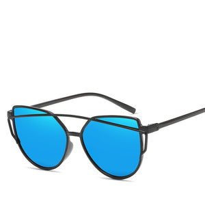 CARL FITOW Cats Eye Twin Beam Sunglasses