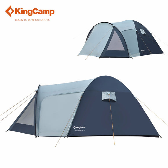 KingCamp Family 4 Berth Tent