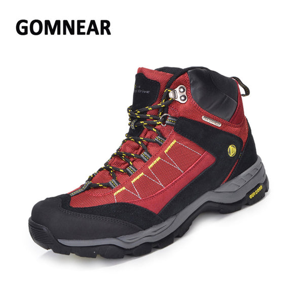 GOMNEAR Waterproof Hiking Mountain Trekking Boots