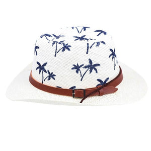 Children's Cowboy Hat with Palm Tree Pattern
