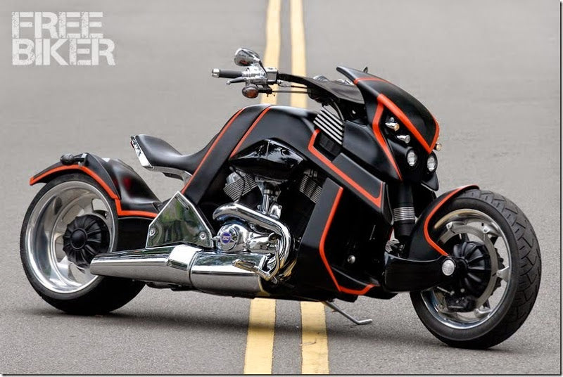 Future Motorcycle Travertson V-Rex