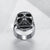 Stainless Steel Punk Biker Skull Stache - MOTORCYCLES CLUB.NET