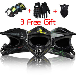 Professional Off Road Motorcycle Helmet Mens DOT Approved - MOTORCYCLES CLUB.NET