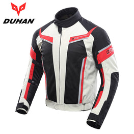 DUHAN Motorcycle Jacket Motocross Jacket Motorcycle Protective Clothing - MOTORCYCLES CLUB.NET