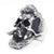 Bearded Pirate Skull Ring Stainless Steel Biker Ring - MOTORCYCLES CLUB.NET