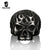 Vintage Men's Rings Punk Motorcycle Biker | Black Skull Skeleton - MOTORCYCLES CLUB.NET