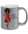 World Finest Chocolate - Medium Brown 11 oz Metallic Mug
