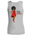 World's Finest Chocolate - Medium Brown - Women's Tank