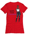 World's Finest Chocolate - Dark Brown - Women's Tee