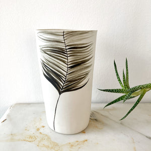 Vaso Deco in porcellana dipinta a mano
