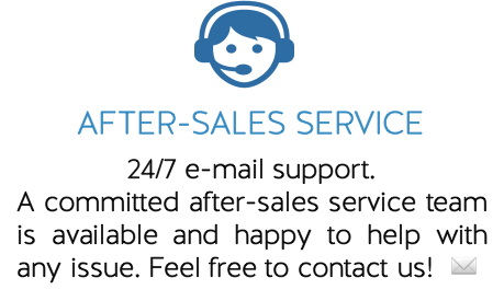 WHY SHOP WITH US After Sales Service Team Issue Contact