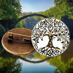 Tree Of Life Brooch Forest