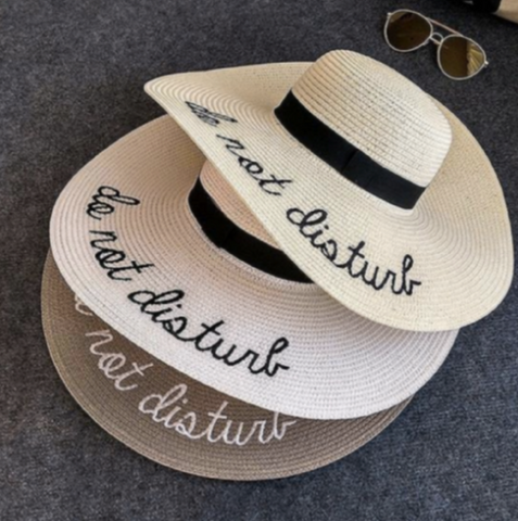 Hat Sun Do Not Disturb Summer Beach Hat