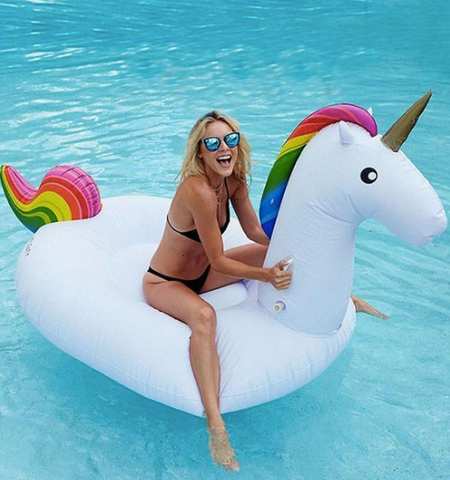 Giant Unicorn Pool Float Summer Beach