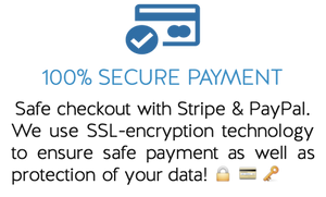 Confidence Services Bar Secure Payment SSL Encryption Safe Check Out Stripe
