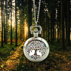 Tree Of Life Pocket Watch Forest