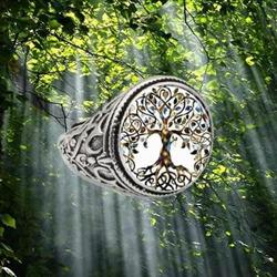 Tree Of Life Vintage Ring Forest
