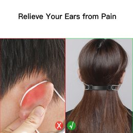Face Mask Hook Ears Pain Reliever Face Mask