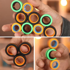 Anti-Stress Magnetic Rings
