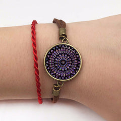 notre dame de paris bracelet rose window