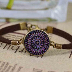 rose window notre dame de paris cathedral vitraux bracelet