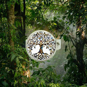 Tree Of Life Silver Ring Forest