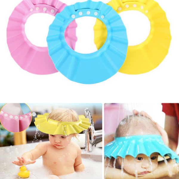 Baby Shower Cap Watertight newborn kids bath