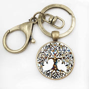 Tree Of Life Key Chain Key Ring Bronze