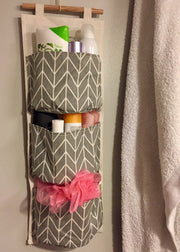 Wall Storage Basket Organization Bathroom