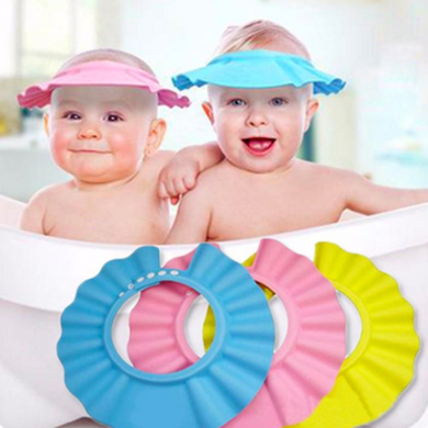baby bath time shower cap