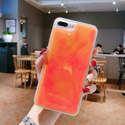 phosphorecent orange iphone case fluo