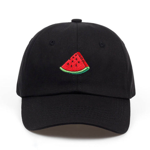 Watermelon Cap Baseball Black