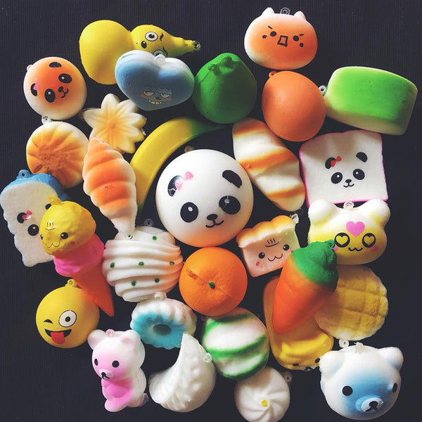 Squishy 30 Pieces Mix
