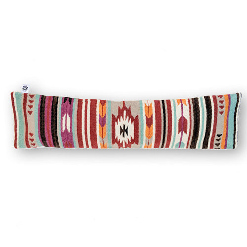 BLUE FABULOUS KILIM LUMBAR PILLOW