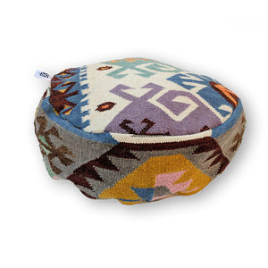 COLORFUL BOHEMIAN KILIM POUF