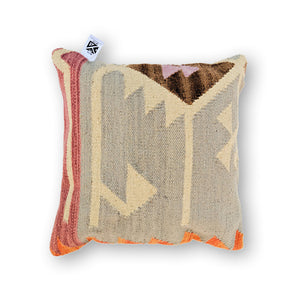 GRAY CHIC KILIM PILLOW
