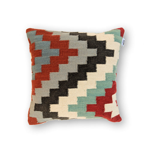 GREY BOHEMIA KILIM PILLOW