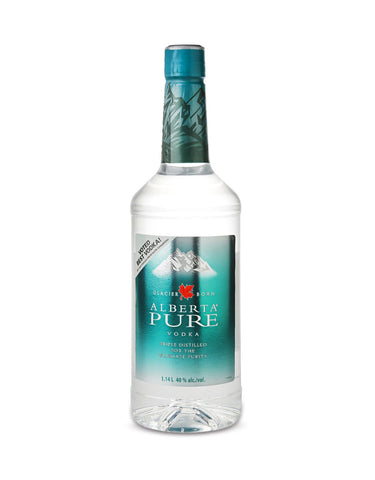 Alberta Pure Vodka - 750 ml (Glass Btl)